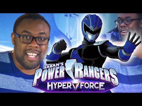 I'M THE NEW BLUE RANGER! Power Rangers HyperForce Announcement | Andre Black Nerd