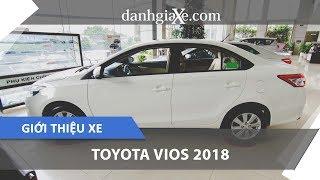 Giới thiệu xe Toyota Vios 1.5E 2018