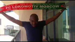 """Видеообращение к болельщикам """"Локомотива"""" из Ставрополя."""