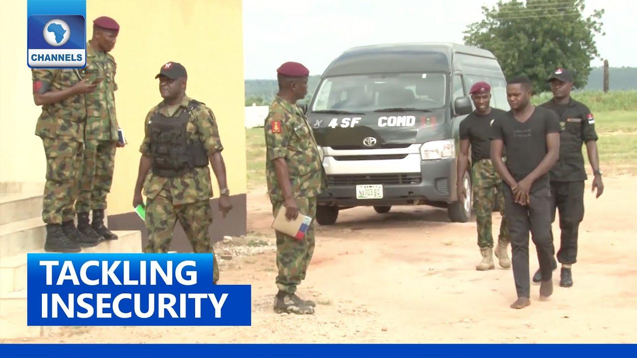 Download Nigerian Army Arrest Late Gana's Commander In Benue