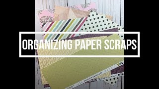 Organizing Paper Scraps // Options // My Thought Process