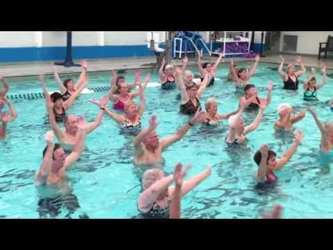 Aqua Aerobics at the EB YMCA
