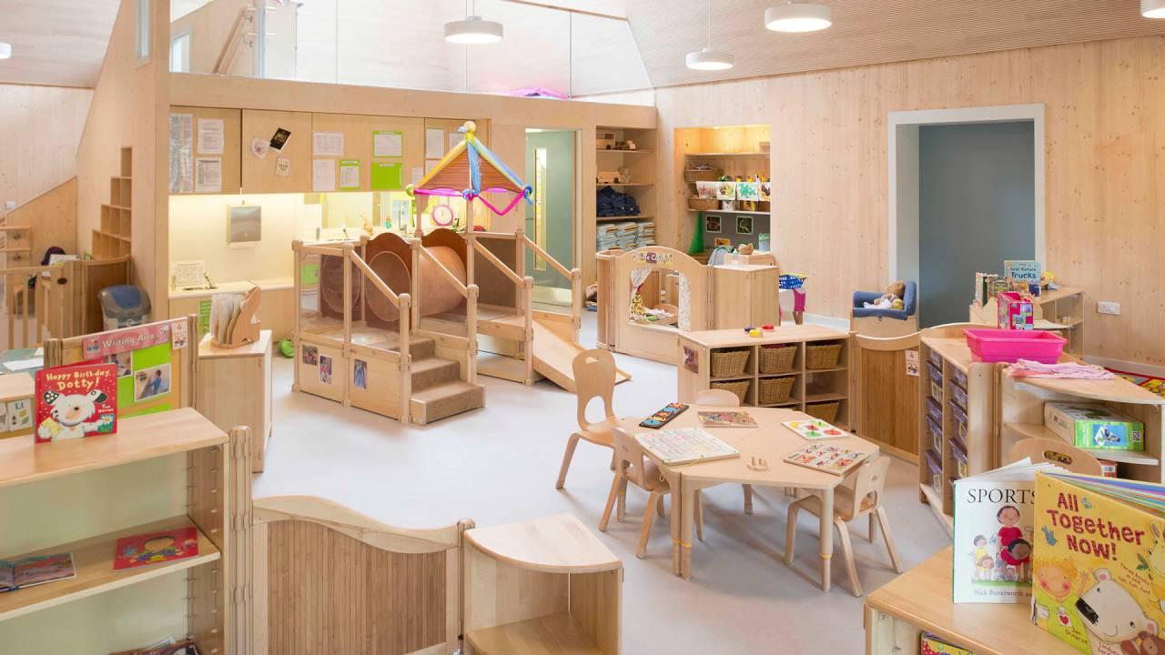 Arcadia Nursery At Edinburgh University