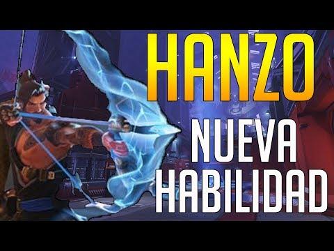 OVERWATCH: NUEVA HABILIDAD DE HANZO!! DISPARO RÁPIDO y su PRIMERA IMAGEN thumbnail