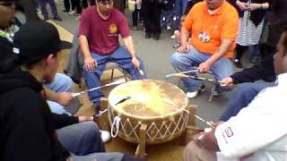 Native American Drum Group @ NW Folklife Festival 2010