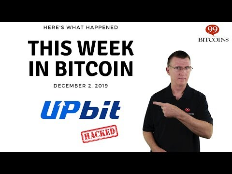 This week in Bitcoin - Dec 2nd, 2019