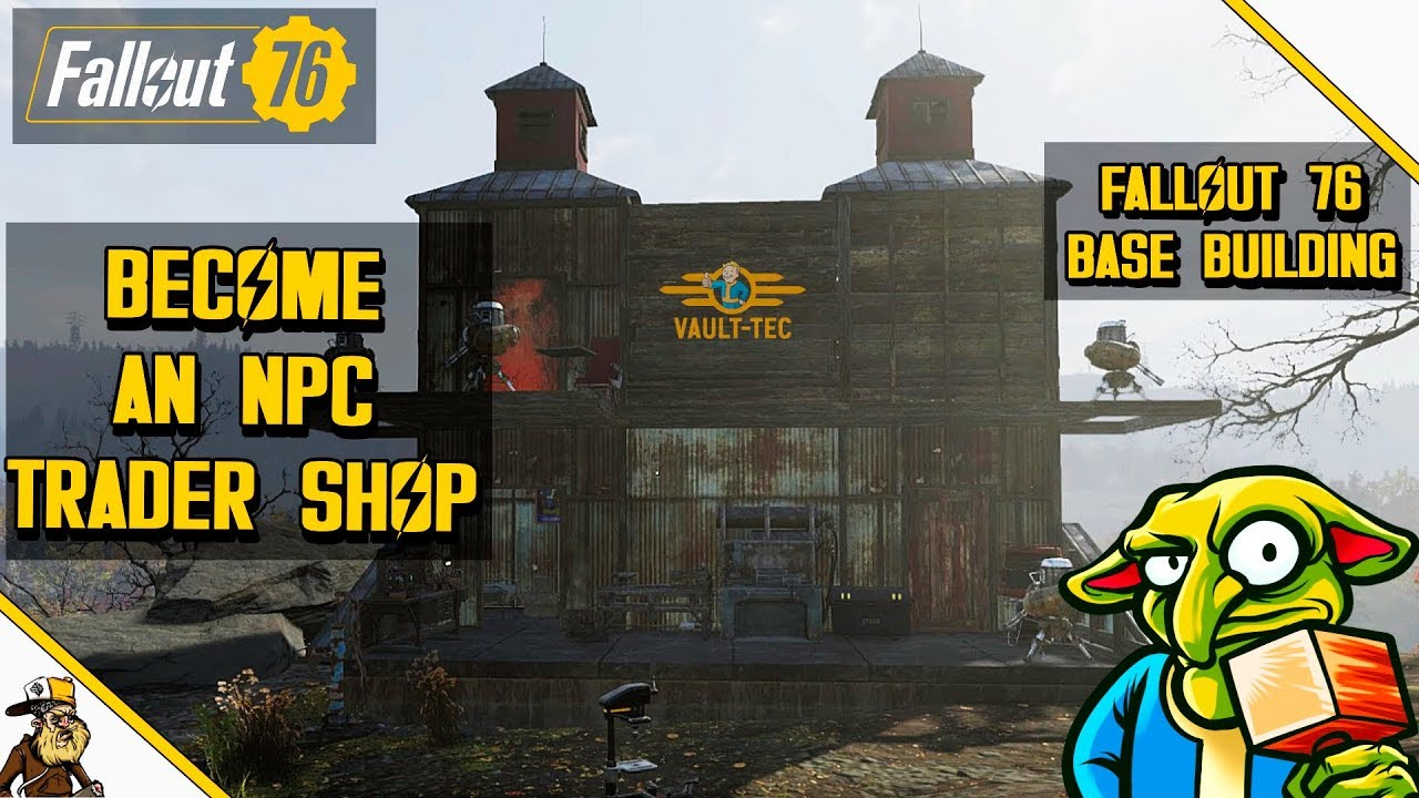 Fallout 76 Base Building - Trade scrap and loot (fallout ...