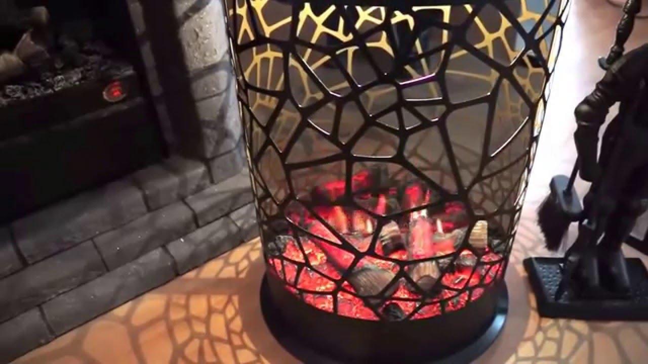 neuer opti virtual elektrokamin 360 von garvens youtube. Black Bedroom Furniture Sets. Home Design Ideas