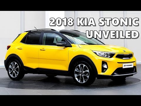 kia stonic 2018 official shots exterior interior youtube. Black Bedroom Furniture Sets. Home Design Ideas