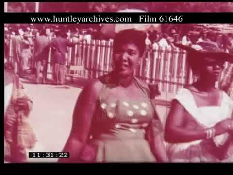 Horse Racing Ghana, 1950s - FIlm 61646