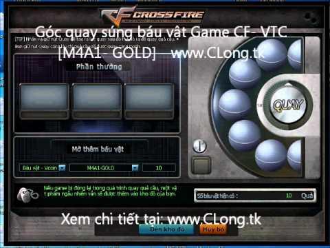 Góc quay súng báu vật-M4A1-GOLD-Game CF-www.CLong.tk