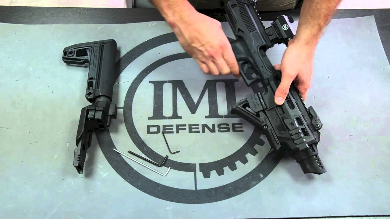 IMI Defense KIDON Innovative Pistol to Carbine Platform for