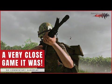 Rising Storm 2 Vietnam | A Close Game | No Commentary Gameplay |