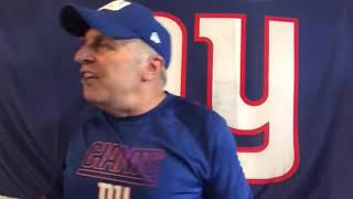 The NY Giants Post-Game Locker Room with Vic DiBitetto: One of the Weirdest