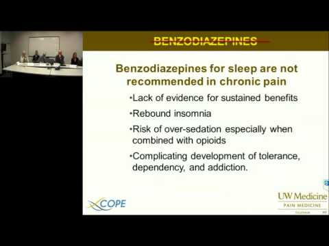 UW TelePain - Non-opioid Clinical Pharmacology in Chronic Pain Management - David Tauben, MD 9/23/15