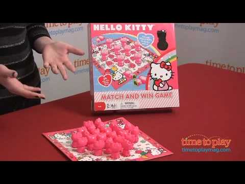 3c7c29a5b Hello Kitty Match and Win Game from Cardinal Games. TTPM Toy Reviews