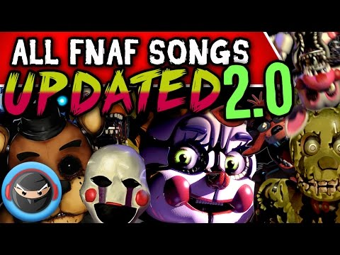 SISTER LOCATION SONGS AND FNAF SONGS (TryHardNinja)