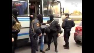 Захват дагестанских стрелков в Петербурге - острый репортаж 100ТВ