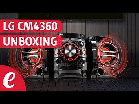 Minicomponente LG XBoom CM4360 (unboxing)