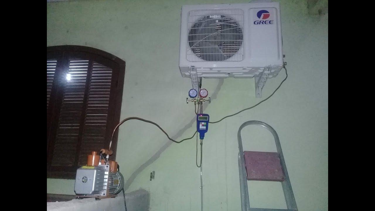 Como Instalar Um Ar Condicionado Split Passo A Passo Youtube