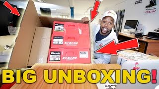 BIG Hockey Unboxing and Q&A with Hockey Tutorial Chris