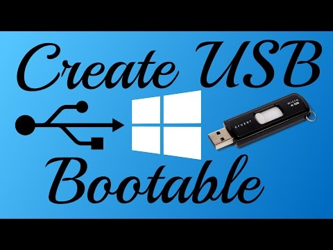 Create USB Bootable Without Any Software (Any Windows)