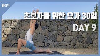 [초보자를 위한 요가 30일] DAY9