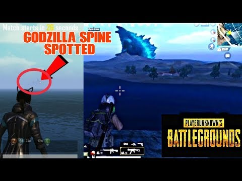 Pubg Mobile GodZilla Location In Spawn Island Secret Place Spotted