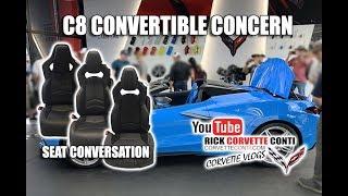 C8 2020 CONVERTIBLE CONCERN & SEAT CONVERSATION FROM ROAD ATLANTA   CORVETTE!