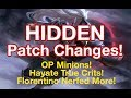 [Arena of Valor] Hidden Changes in the March 2019 Patch