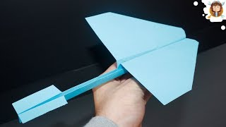 Como fazer um avião de papel que voa muito longe