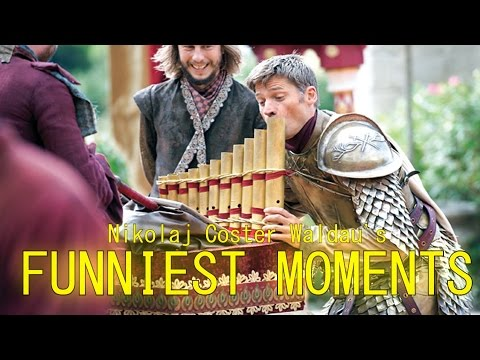 Funny Moments w/ Nikolaj Coster-Waldau