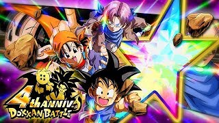 COMING SOON TO GLOBAL! 100% RAINBOW STAR LR GOKU, PAN & TRUNKS! (DBZ: Dokkan Battle)