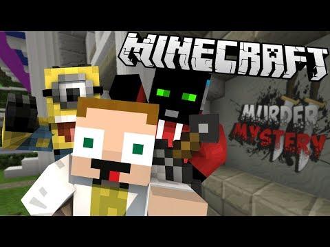 [GEJMR] Minecraft - Dáme si skupinovou fotku s Murdrem? 😀🗡️ - Murder Mystery