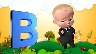 Little KIDS TV | ABC song with Baby Boss | Finger Family