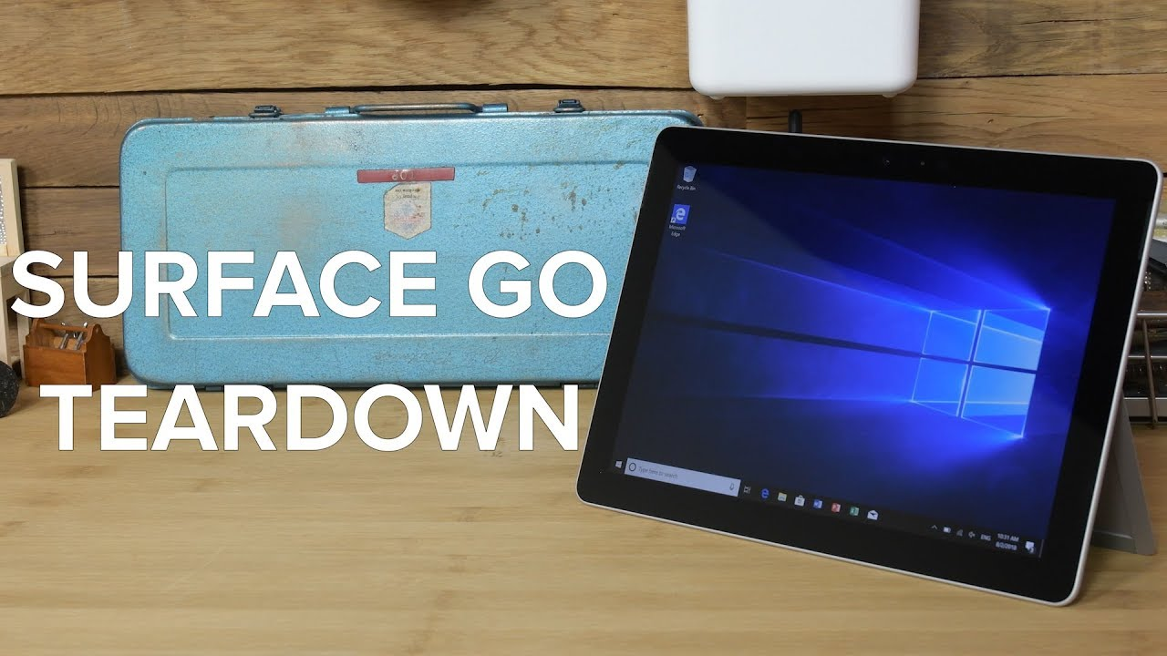 Microsoft Surface Go Teardown!