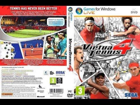 Como Descargar E Intalar Virtua Tennis 4 Para Pc En Español 2013 Youtube