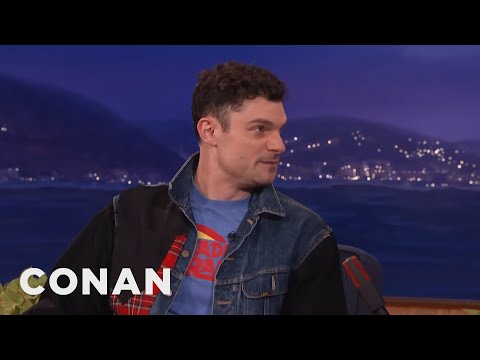 Flula Borg Teaches Conan Some Choice German Phrases  - CONAN on TBS