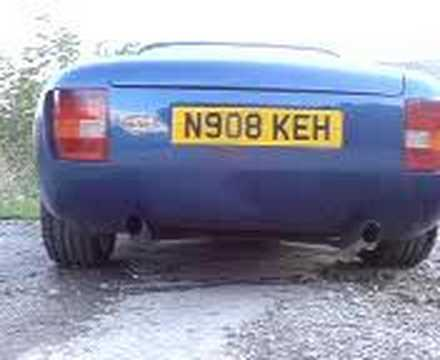 TVR Griffith, Gasdoc's ( Rob) TVR Griffith Sports exhaust