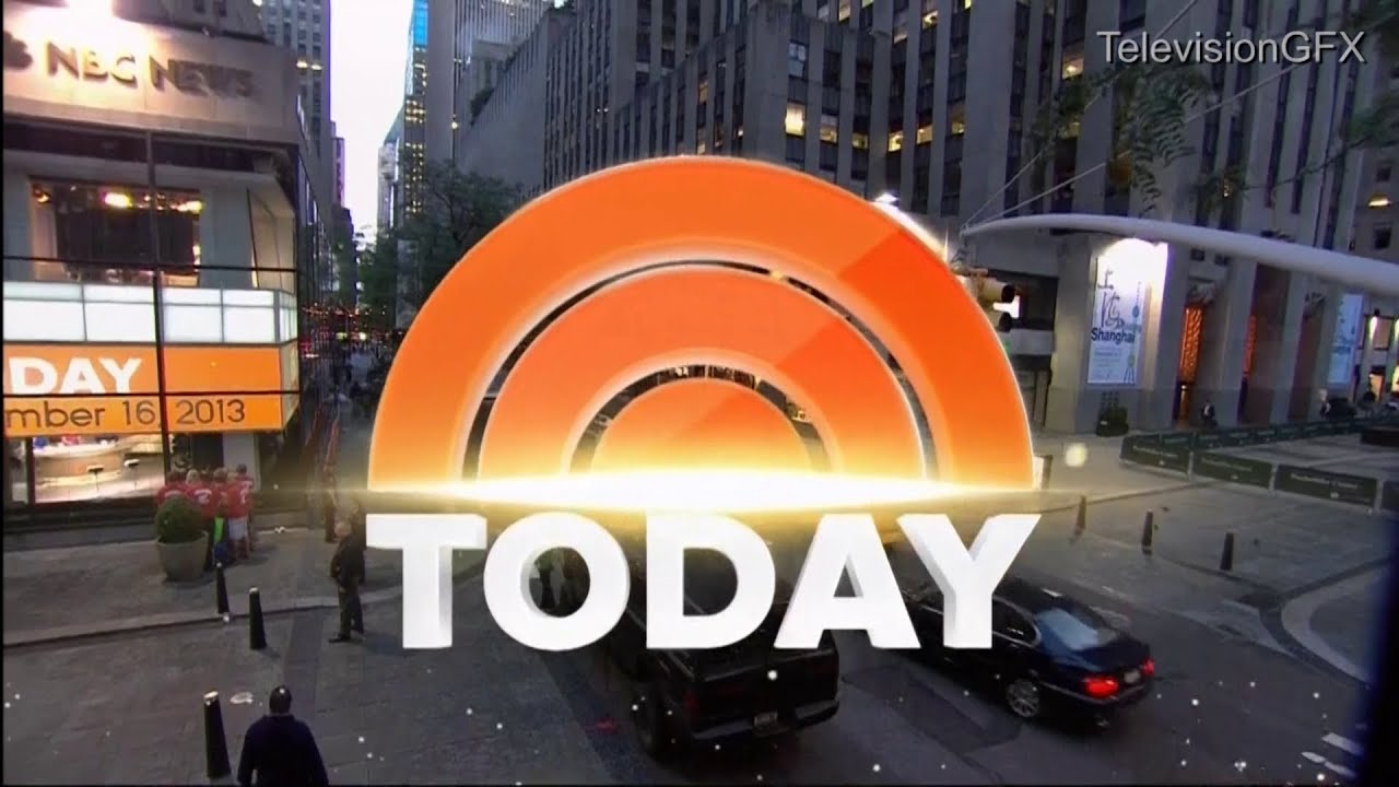 NBC Today Show Open Fall 2013 - YouTube