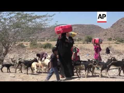 Yemen's displaced living in poor conditions