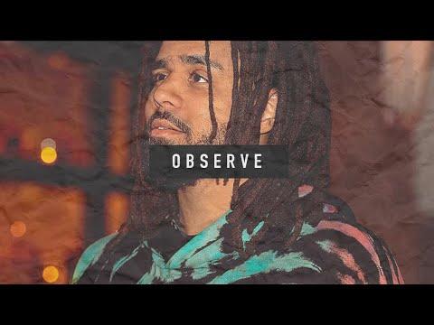 "Free J Cole x Drake type beat ""Observe"" 2020"