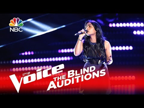 Moushumi - Wicked Game (The Voice Blind Audition 2016)