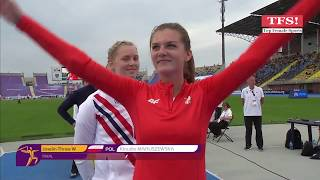 2017 - Javelin Throw - U23 European Athletics Championships Bydgoszcz