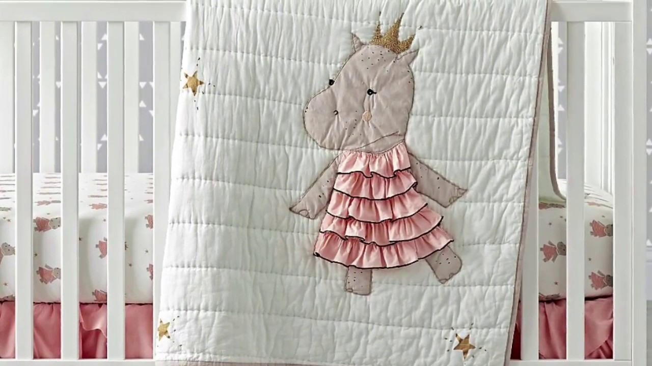 The Land Of Nod Baby Crib Bedding Review Youtube