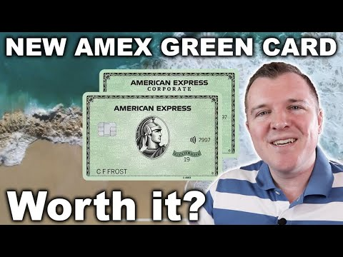 NEW AmEx Green Card UNBOXING + Card Review