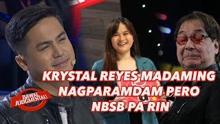 KRYSTAL REYES MADAMING NAGPARAMDAM PERO NBSB PA RIN | Bawal Judgmental | February 26, 2020