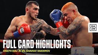 FULL CARD HIGHLIGHTS | Diaz vs. Rakhimov