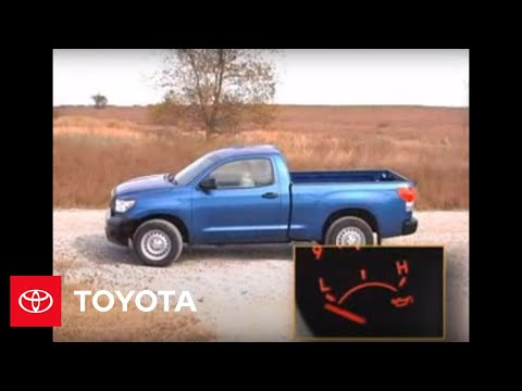 2007 Tundra How-To: Oil Pressure Gauge   Toyota