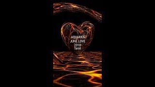 Aquarius 2018 June Love Tarot ( You them and the Ex !!! )